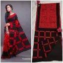 Designer Cotton Mulmul Saree