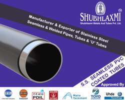 Stainless Steel Seamless PVC Coated Tubes