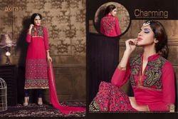 Semi-Stitched Ladies Salwar Suits