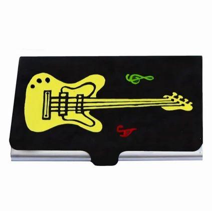 women business card holder guitar card holder gift for husband