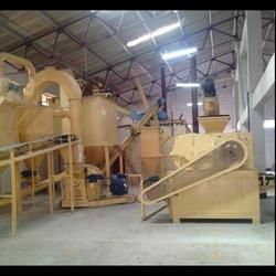 P.O.P powder manufacturing unit