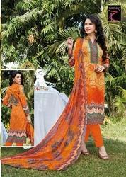 Unstitched Printed Suit