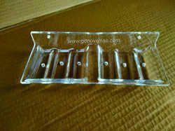 Acrylic Double Soap Dish