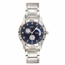 Vespl Analogue Blue Dial Watch for Men-(VW5004)