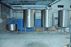 Semi Automatic Soda Soft Drink Plant