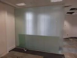 Toughened Glass Door And Partition Work