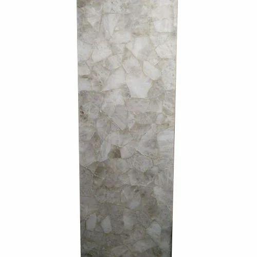 Quartz Stones Slabs White Quartz Semi Previous Stone Slabs
