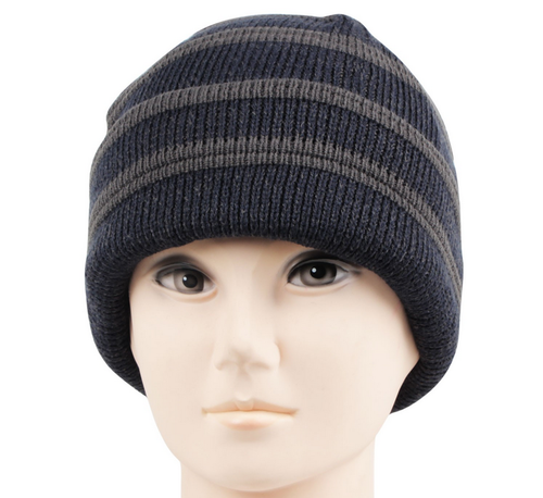 8059216e14d Caps - RMW6Z14010 Mens Woolen Striped Knitted Cap Retailer from ...