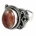 Big Antique Design 925 Sterling Silver Ring
