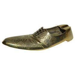Brass Shoe Ashtray