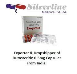 Dutasteride 0.5mg Capsules
