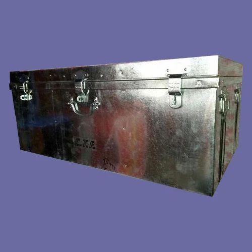 Galvanized Storage Trunks Galvanized Steel Trunks Or