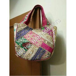 Handicraft Cotton Bags Handicraft Bag Exporter From New Delhi