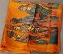 Printed Khadi Silk Jhumka Saree