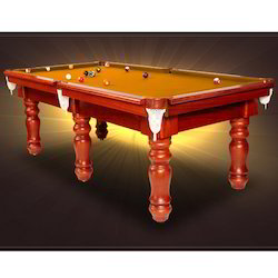 Brownish Shade Pool Table with Indian Slate