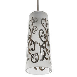 Jainsons Emporio Abstract Design Glass Pendant Lamp