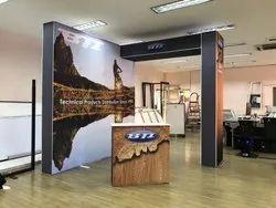 Exibu Portable Exhibition Booth 3x3 m / 5x3 M