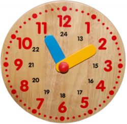 Clock With Stand