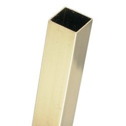 Brass Square Pipe