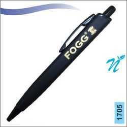 Plastic Square Black Pen