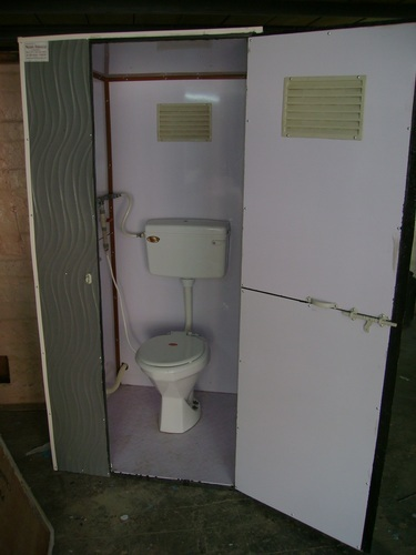 FRP Portable Bio Toilet   Bio Digested FRP Toilet Cabin Exporter From  Ahmedabad