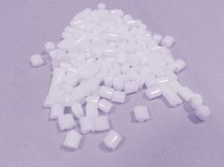 ABS White Pre- Colored Granules
