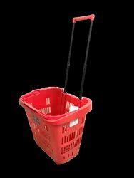 Shopping Plastic Trolley
