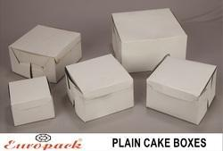 Plain Cake Boxes (Pack of 100)