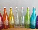 Coloured Drinking Glass Bottle