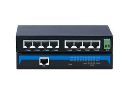 8-Port RS232/485/422 to Ethernet Server