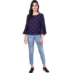 Ladies Embroidered Blouse Top