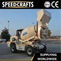 Speedcrafts Mobile Concrete Mixer