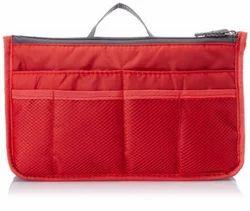 Red Hand Bag Organizer