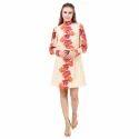 Designer Winter High Neck Dress