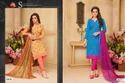 Fancy Sachika Salwar Suit Fabric