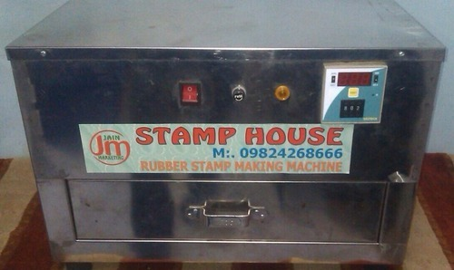 Stamp Making Machine ( Big) Steel Body