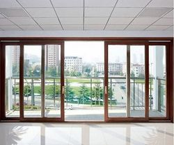 Double UPVC Sliding Door