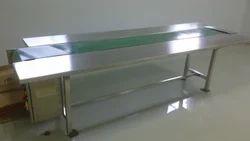 Work Table PVC Belt Conveyor