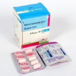 Glimperide 1 mg Metformin 1000 MG (SR)