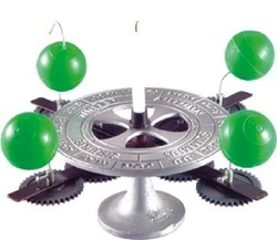 Seasons Apparatus Set of 4 Globes for Geographical Model
