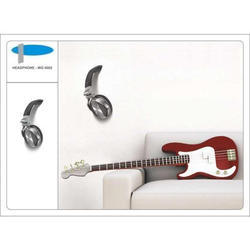 Headphone Wall Graphics with 3D Effect