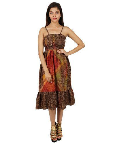 Women Designer Printed Dress