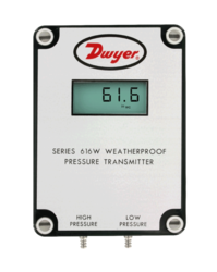 Low Differential Pressure Transmitter Indicating 616W Series