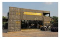 Container Building - Car Showroom