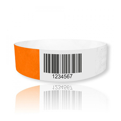 Bar Code Wrist Bands