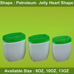 Petroleum Jelly Heart Shape Bottle