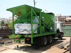TRUCK MOUNTED CONCRETE BATCHING PLANTS