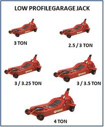 Low Profile Garage Jack 3 Ton JM 706 02