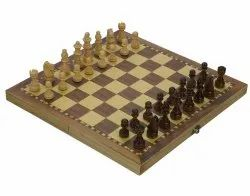Toy Park Foldable Wooden Magnetic Chess 29 x 29 cm