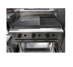 Griddle Plate with Hot Plate